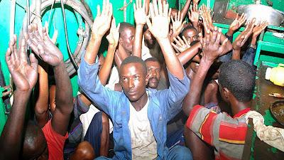 Сомалийцы под арестом