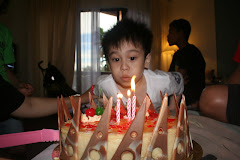 Syahmi's 3rd birthday