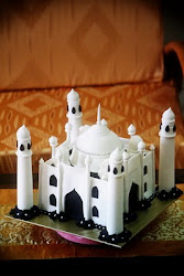 Taj Mahal Cake - Hantaran