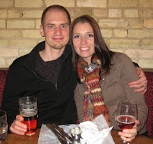 Hi, I'm Anne. (With my handsome husband Chris-circa 2009)
