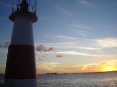 Por do Sol - Farol de Humaitá - Salvador - BA
