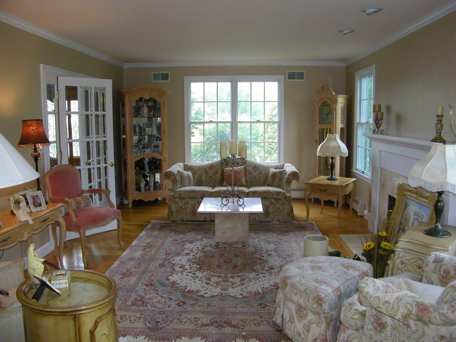 Romantic Living Room Update