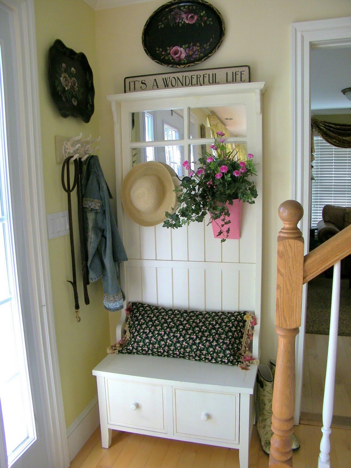 100 door benches articles with front door garland holder ta
