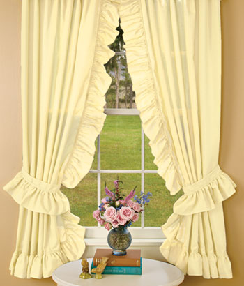 Priscilla Curtains from Sears.com