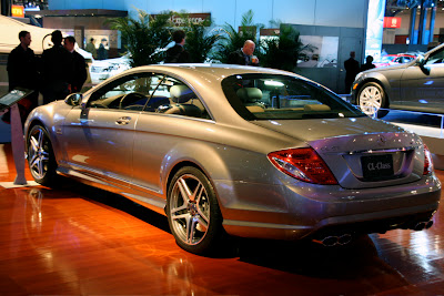 Mercedes-Benz CL65 AMG at the NY Auto Show
