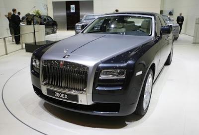 Rolls-Royce 200EX - Geneva Auto Show