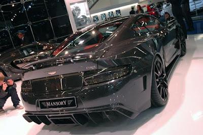 Aston Martin DB9 - Mansory Cyrus - Frankfurt Auto Show
