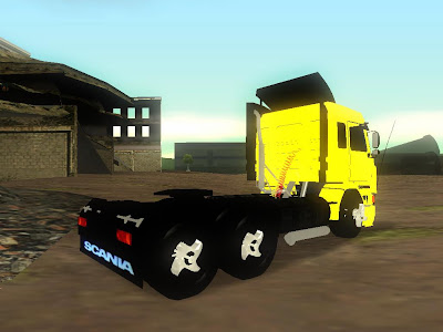 Gta Sandreas Games Jogos Games Free  Scania 113H Frontal By Michael D