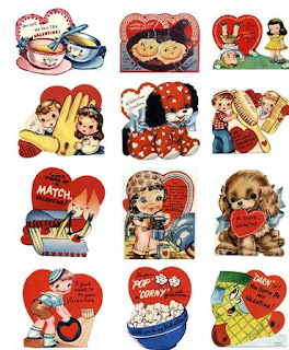 ANTIQUE VALENTINE GREETING CARDS, NOTE CARDS AND ANTIQUE VALENTINE