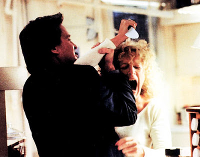Fotograma de 'Fatal Attraction', de Adrian Lyne