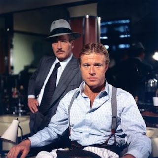 Paul Newman e Robert Redford em 'A Golpada', (1973) de George Roy Hill
