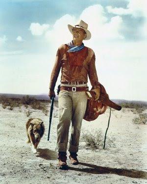 John Wayne em 'Hondo'