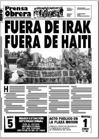 Prensa Obrera 852