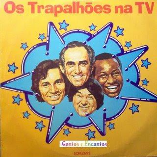 Filme Poster O Melhor Dos Trapalhões Na TV - VoL. 1 ao 6 TVRip