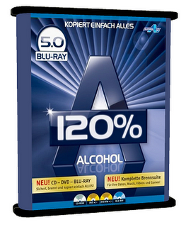 Alcohol 120% 5.0 Blu Ray + Serial 2009