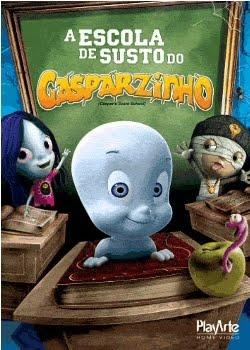 Filme Poster A Escola de Susto do Gasparzinho DVDRip Dual Audioo