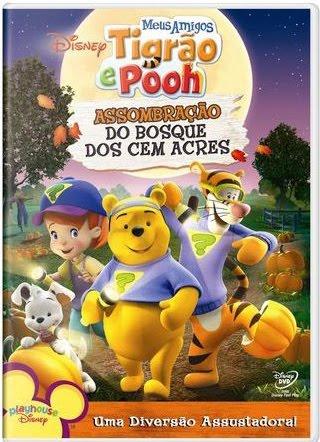 tigrao%2Be%2Bpooh Meus Amigos Tigrão e Pooh Assombração do Bosque dos Cem Acres