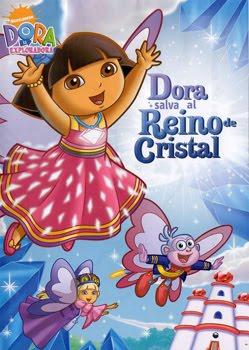 Filme Poster Dora a Exploradora Salva o Reino de Cristal DVDRip XviD & RMVB Dublado