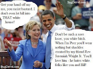 Obama's Love for Hilary
