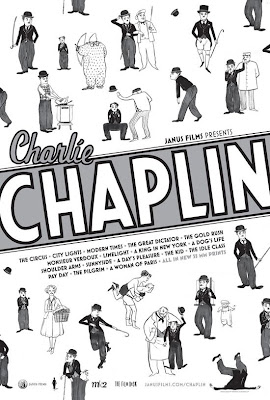 Charlie Chaplin Retrospective Theatrical Poster