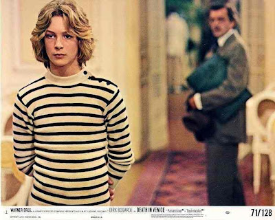 Bjrn Andrsen (front) and Dirk Bogarde (back) in Death in Venice