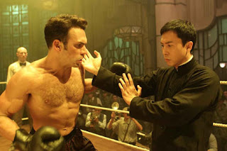 Darren Shahlavi (left) and Donnie Yen in Ip Man 2