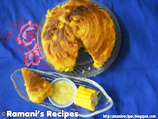 Corn Bread © Ramani Ramaiah (SV Ramani) @ Ramani's Recipes
