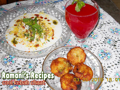 Cool Kebab Chaat