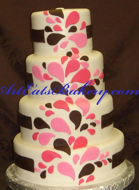 Cake Designs Jackie Brown Croydon : Art Eats Bakery custom fondant wedding and birthday cake ...