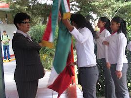 Actividades Cívicas de las alumnas de Secretariado