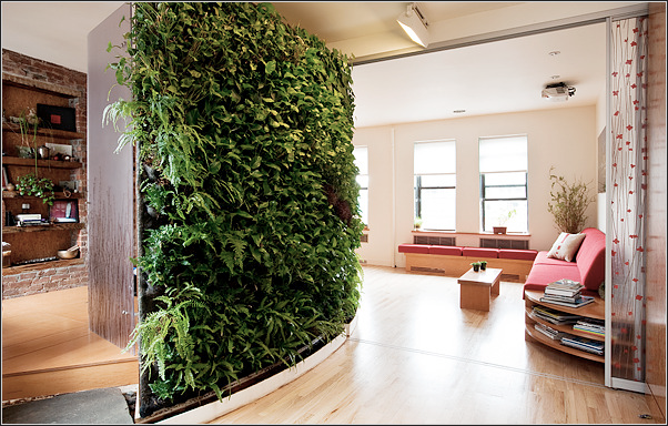 Diy Greenwalls My Greenwall In The New York Times Home