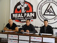 Conferenza Stampa e Weigh-In al Real Pain 3