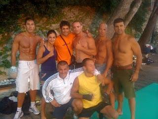 Allenamento estivo al Kombat Team di Alassio (BABA beach) 2