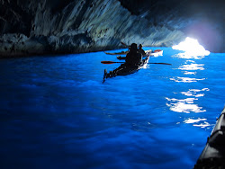 'Blue' cave