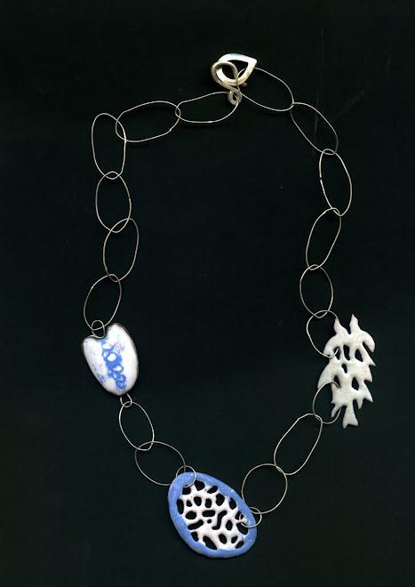 K-36, copper, enamel, silver