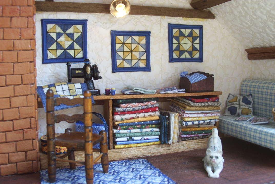 La seine miniatures et les vitrines allons y - La maison rustique ...