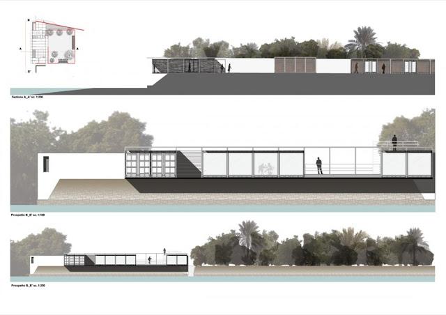 Arte elevaciones en arquitectura for Tecnicas de representacion arquitectonica pdf