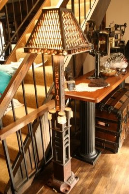 The Steampunk Home Mark Phenicies Home And Furniture