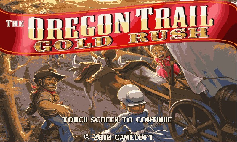 HD2 Apps HTC HD2 Games The Oregon Trail 2 Gold Rush