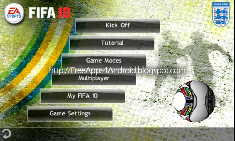 Скачать на андроида игру фифа 10