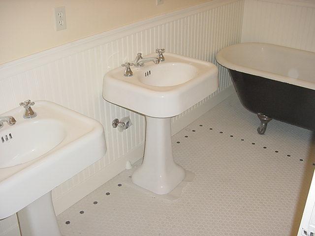 Color Of Vintage Bathroom Tiles