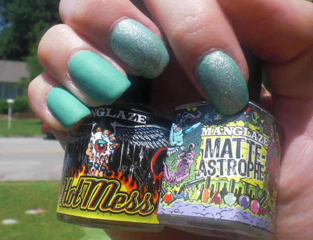 concrete and nail polish sinful