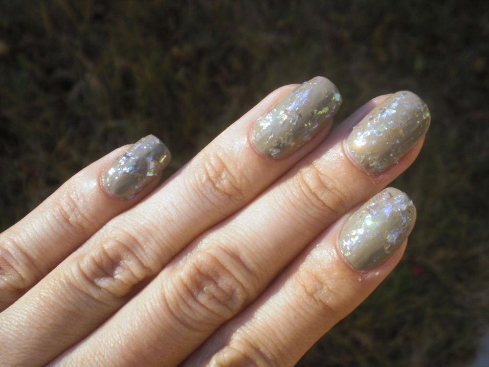 Concrete and Nail Polish: Color Club Covered In Diamonds