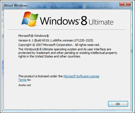 windows 8 isuhangat