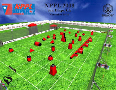 Spyder Paintball Field NPPL 2008 Houston 3D