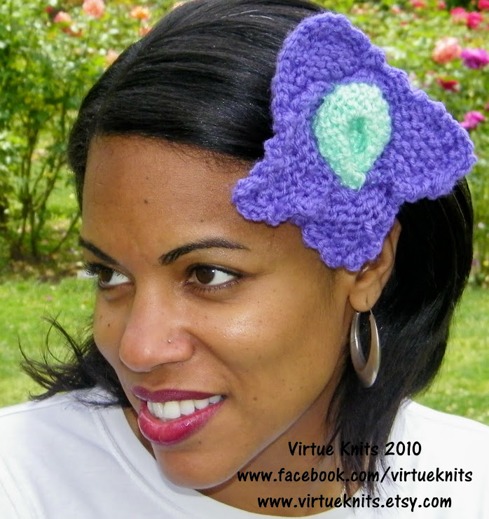 One of the many faces of Virtue Knits