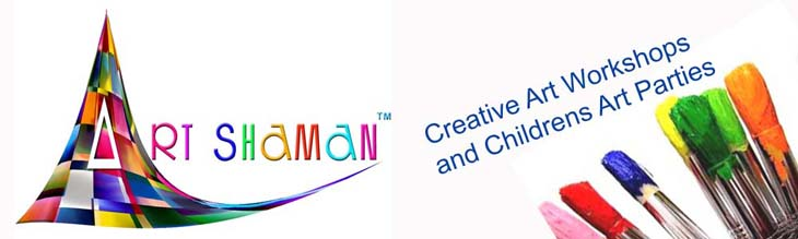 Art Shaman Creative Art Workshops and Childrens Art Parties