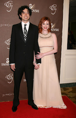 Mad Men Actress Christina Hendricks Marries Geoffrey Arend