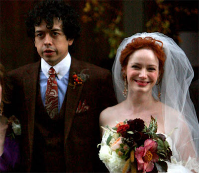 Mad Men Actress Christina Hendricks Marries Geoffrey Arend Photos