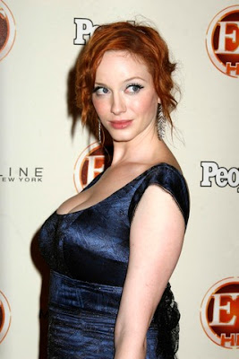 Mad Men Actress Christina Hendricks Geoffrey Arend  Marries pics Christina Hendricks